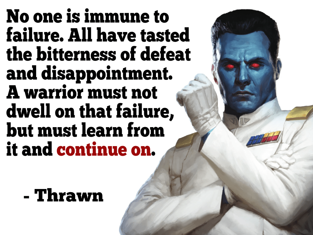 [Image] No one is immune to failure.