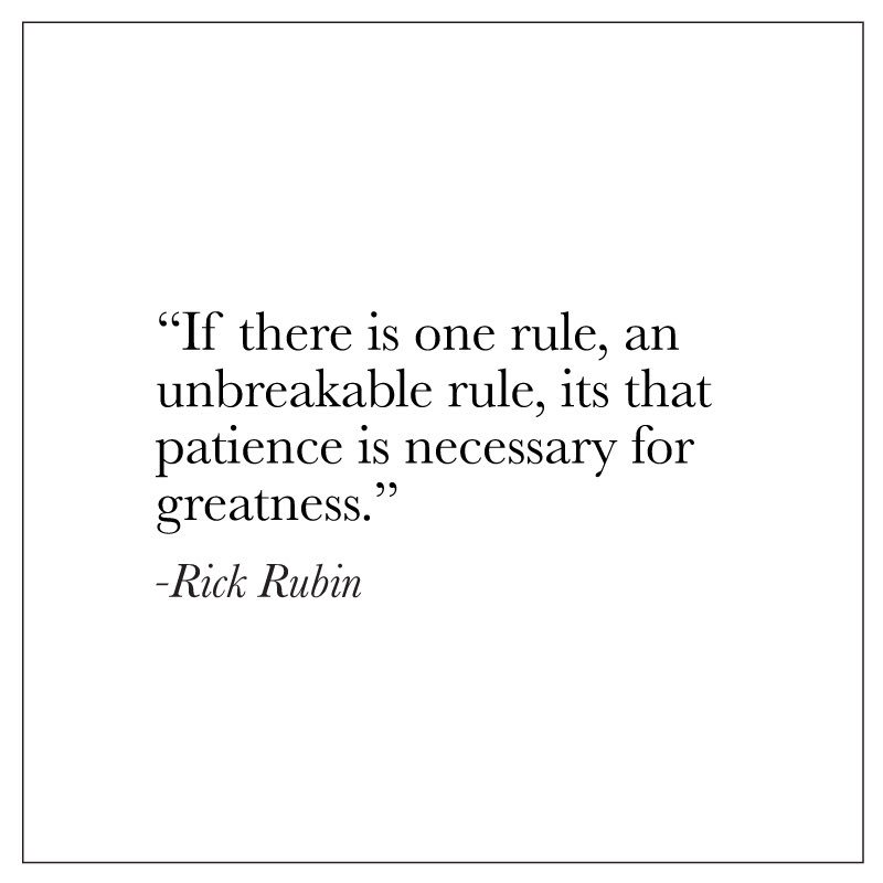 [Image] Patience Is Necessary For Greatness.