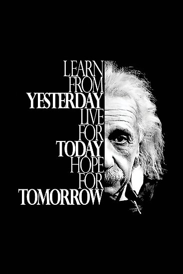 Amazing quote from Albert Einstein [367 x 550]