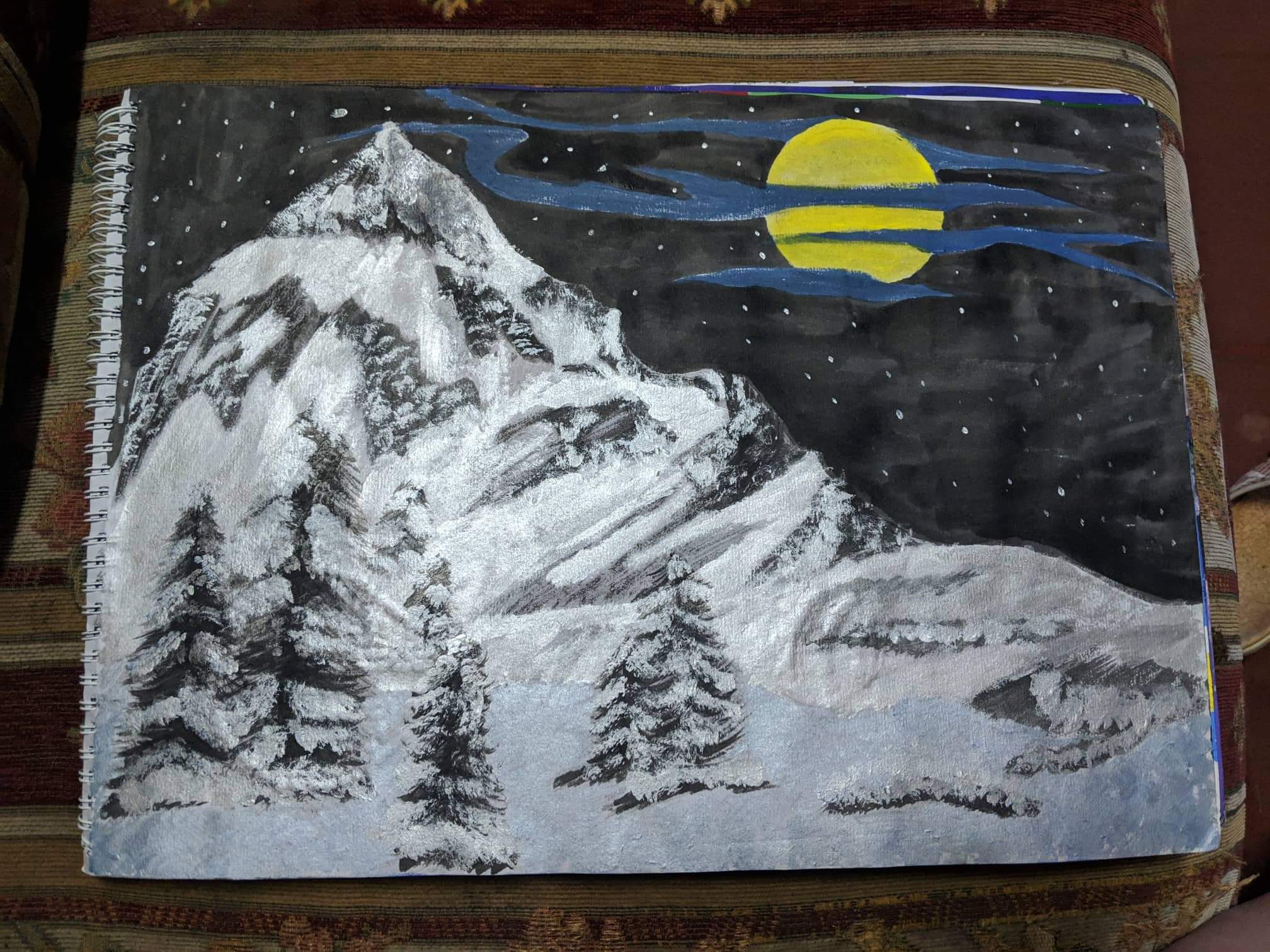 [Image] My bff painted this. What do you guys think?