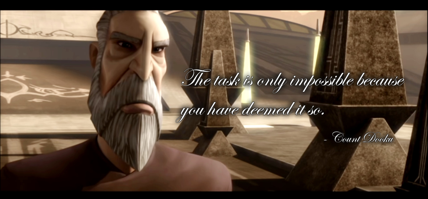 [Image] Motivational Dooku