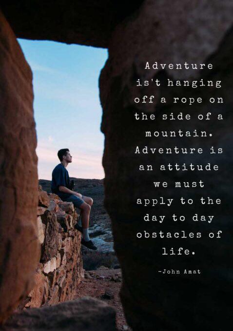 [image] Life is an adventure