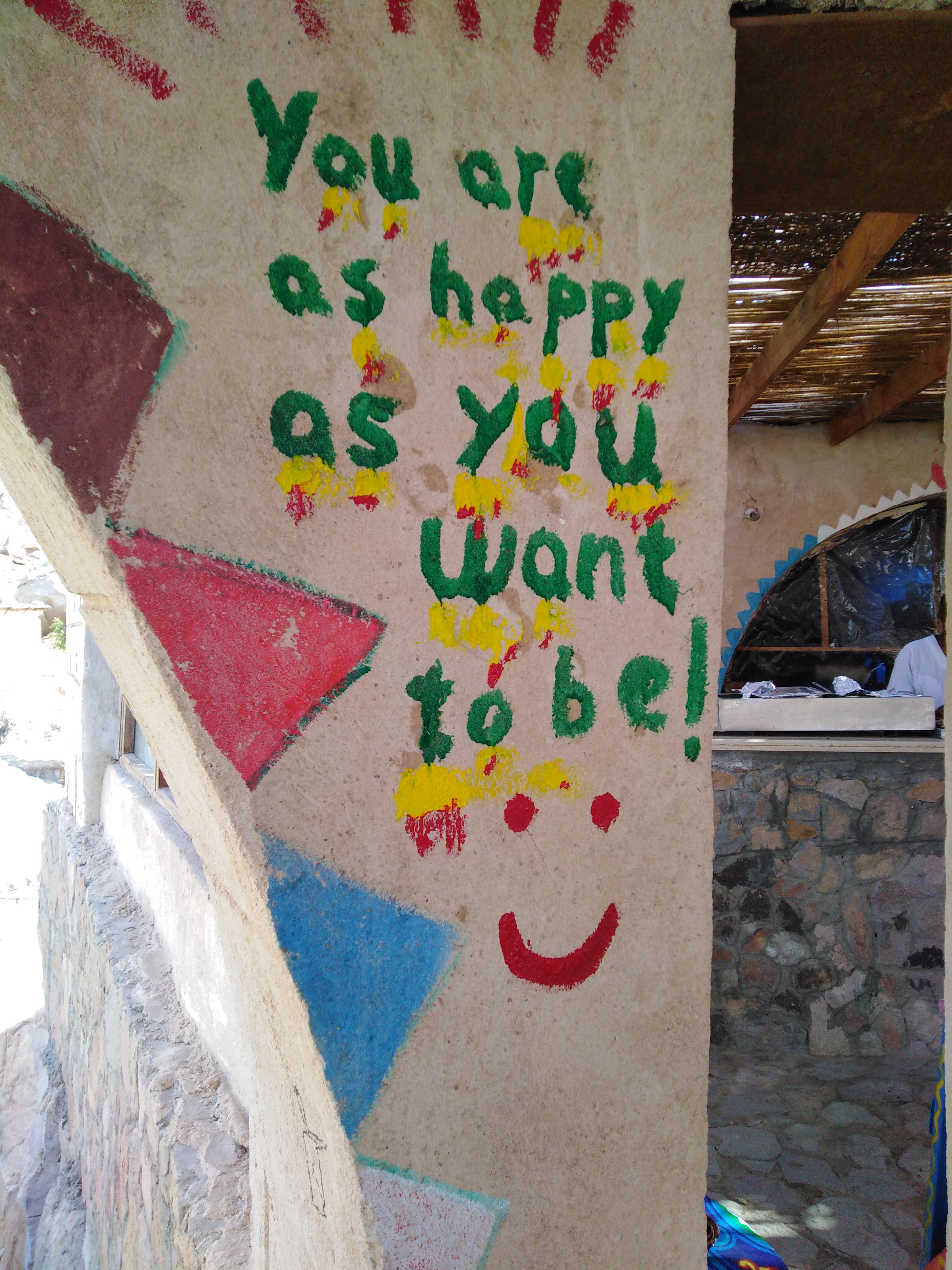 [Image] You are as happy as you want to be!