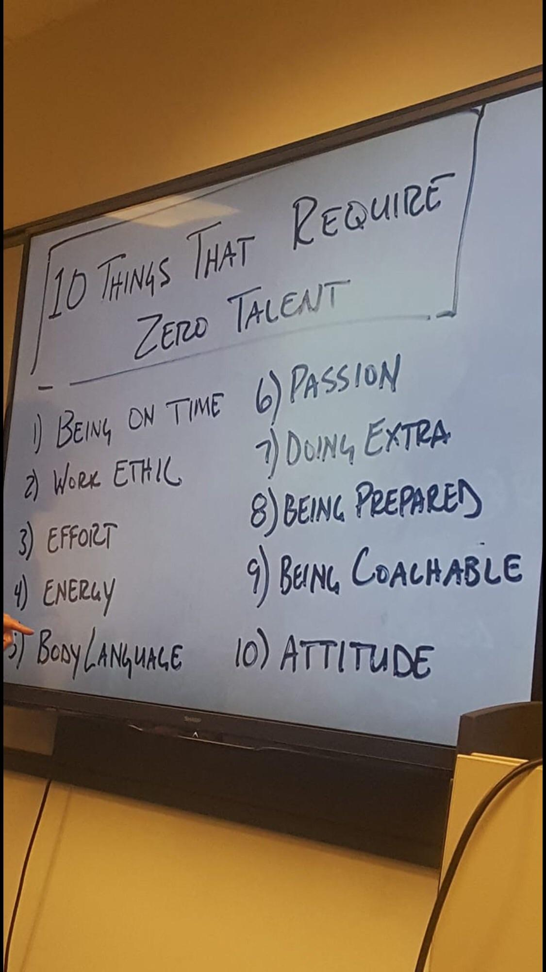 [Image] 10 Things That Require Zero Talent