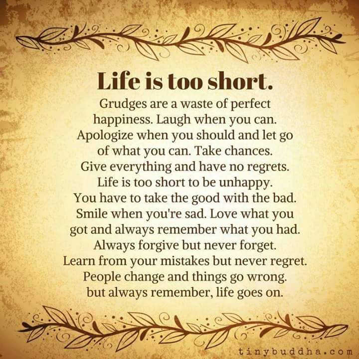 Life is too Short [Image]
