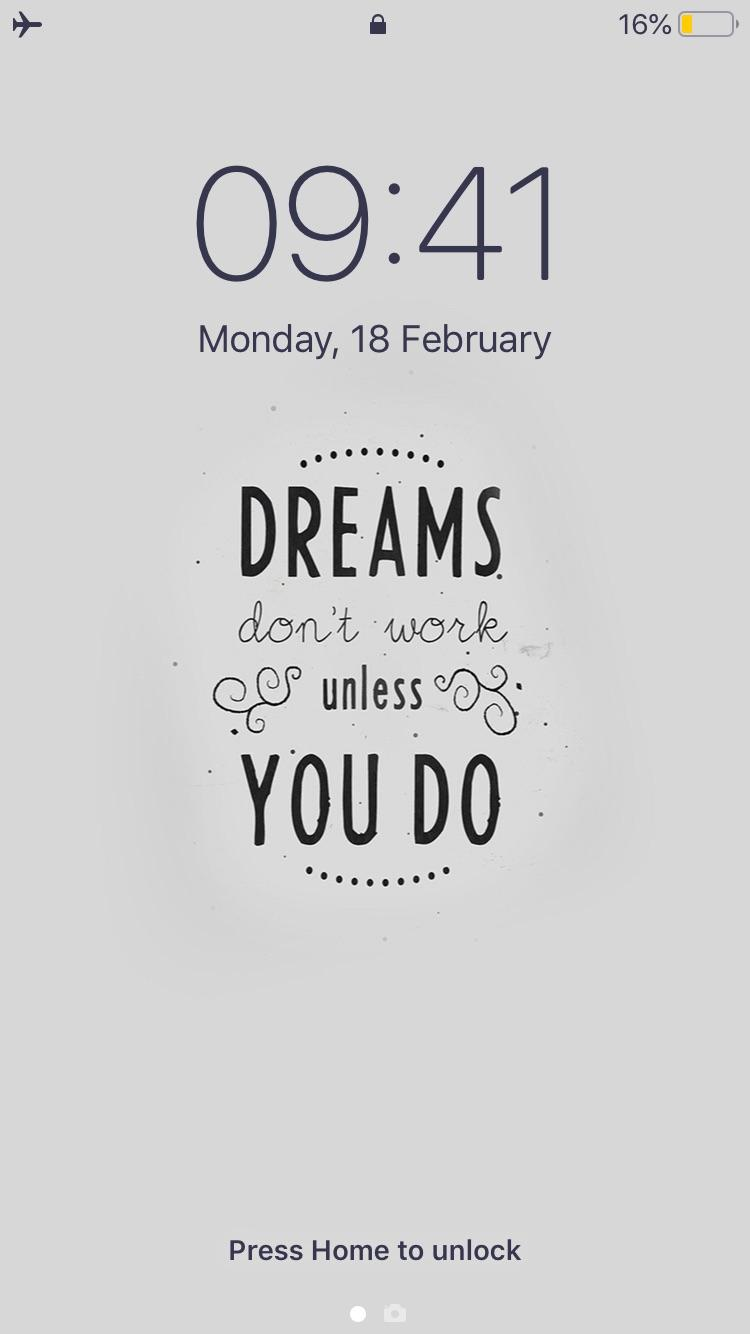 [Image]Finally found a way to tackle procrastination to an extend. This is my lock screen since 1st of Jan. It's not 100% foolproof. But the number of times I could go back to my work choosing not to waste time on phone did increase considerably. Bonus: Now I can enjoy my free time with less guilt.