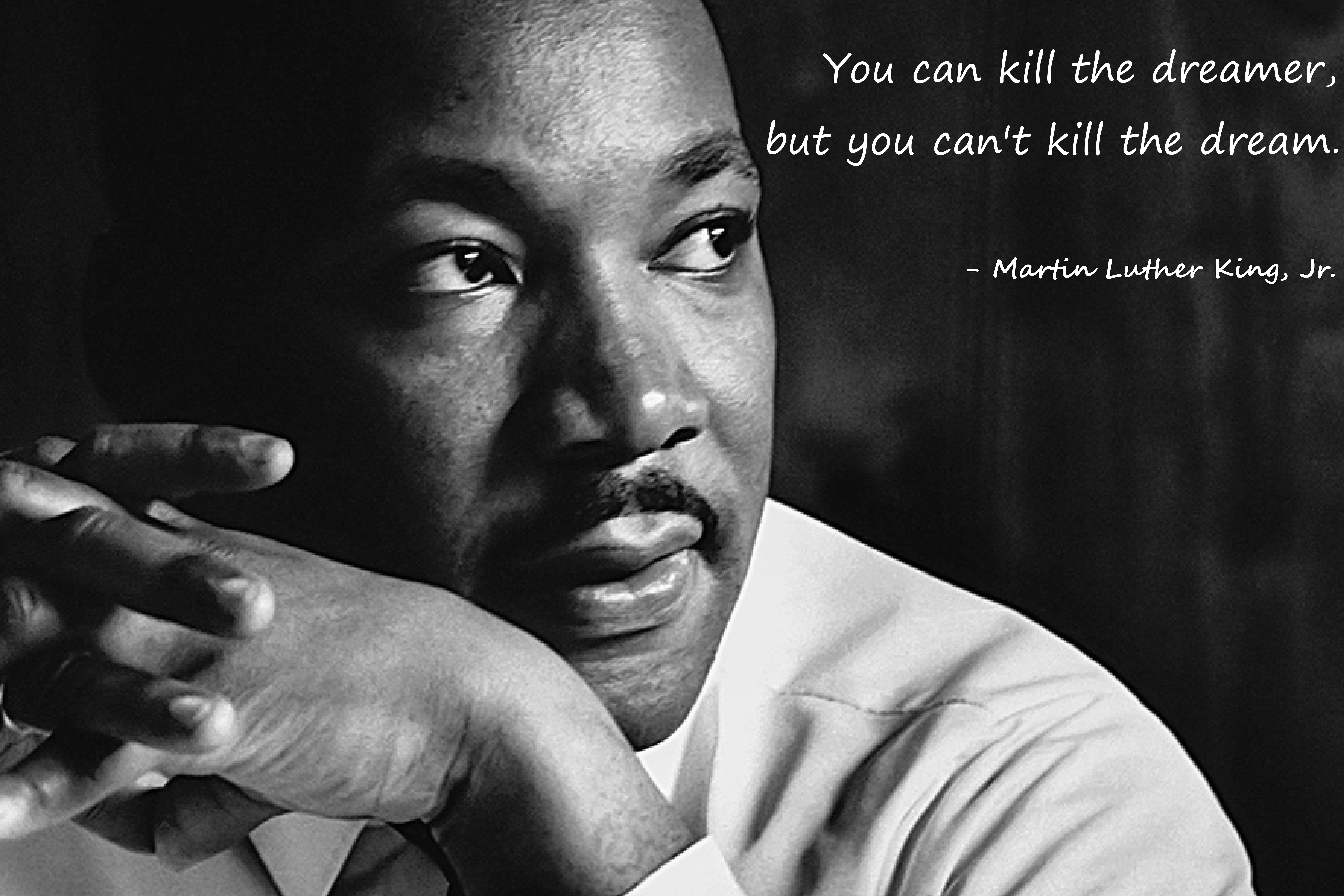 """You can kill the dreamer …"" -Martin Luther King, Jr. (OC) [7200×4800]"