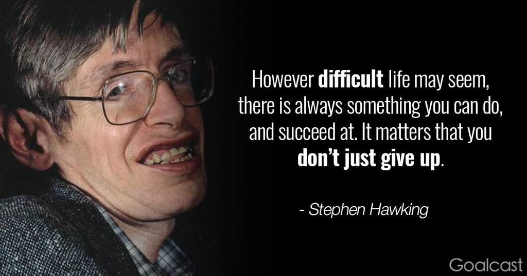 [Image] Don't just give up