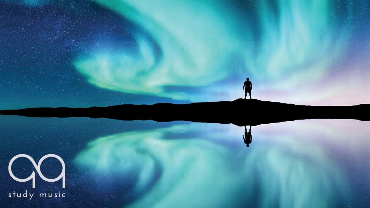 [Video] Get inspired during your study session or while you work and get rid of unpleasant thoughts with this ambient background music with northern lights images.