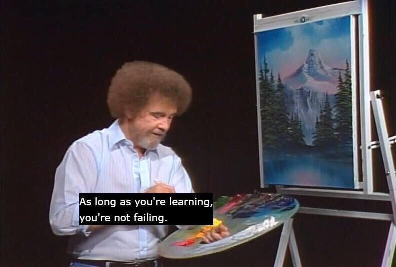 [IMAGE] Daily Bob Ross Motivation