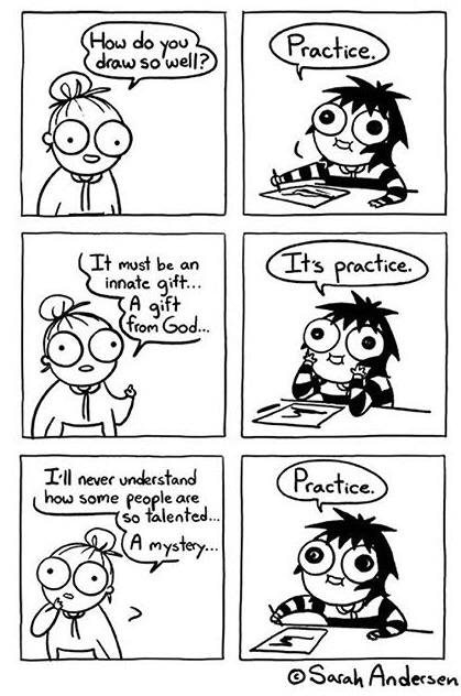 [Image]Its just Practice.