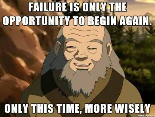 [Image]Sometimes its okay to fail.