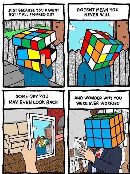 [Image]one day you will look back.