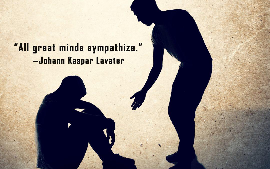 """All great minds sympathize.""—Johann Kaspar Lavater [1080×675] [OC]"