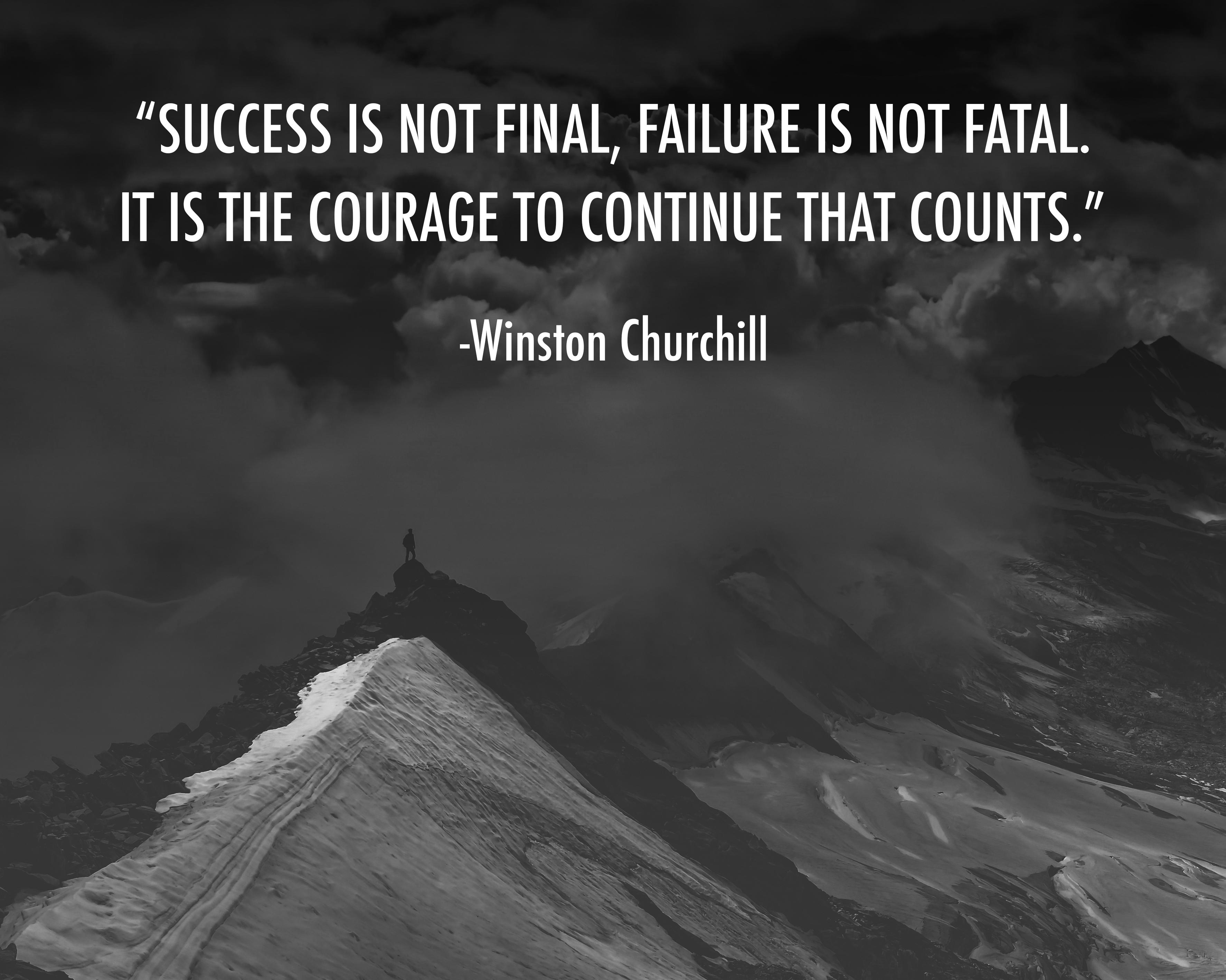 [Image] Don't let your previous failures keep you from your future success.