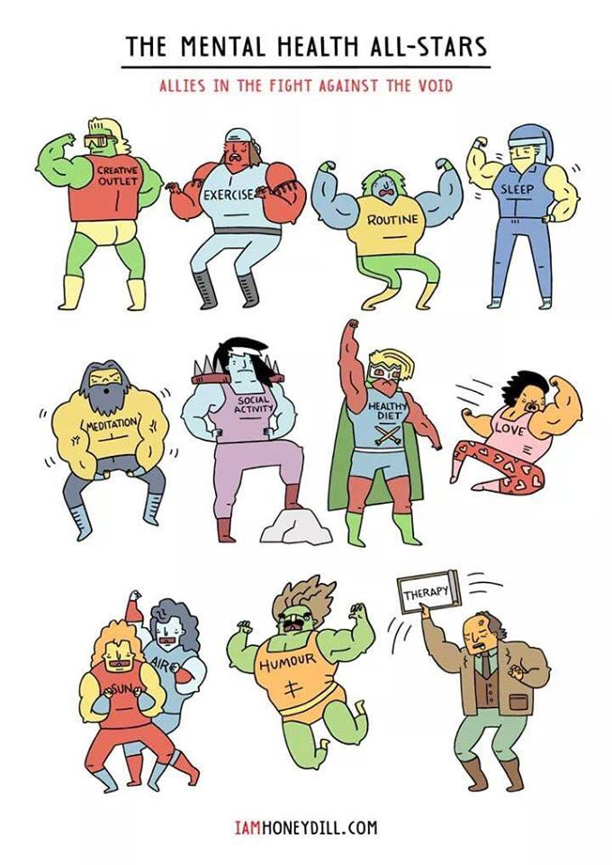 The Mental Health All Stars [Image]