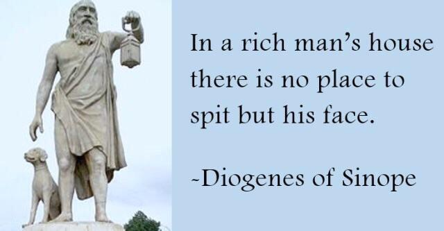 """In a rich man's house…"" – Diogenes of Sinope [640 x 333]"