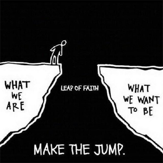 LEAP OF FAITH MAKE THE JUMP. https://inspirational.ly