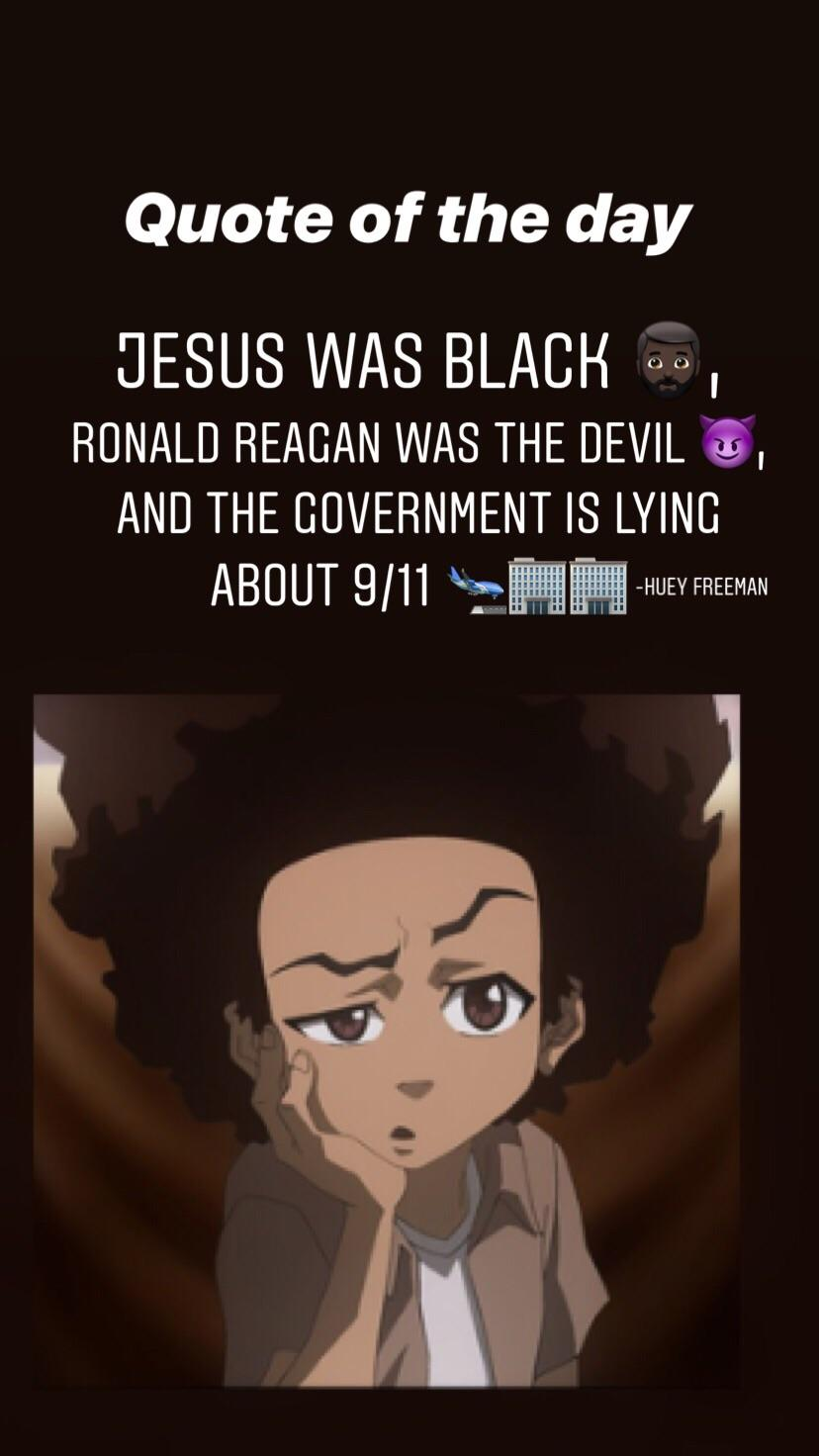 One of the most memorable moments of the boondocks. [666 by 666]