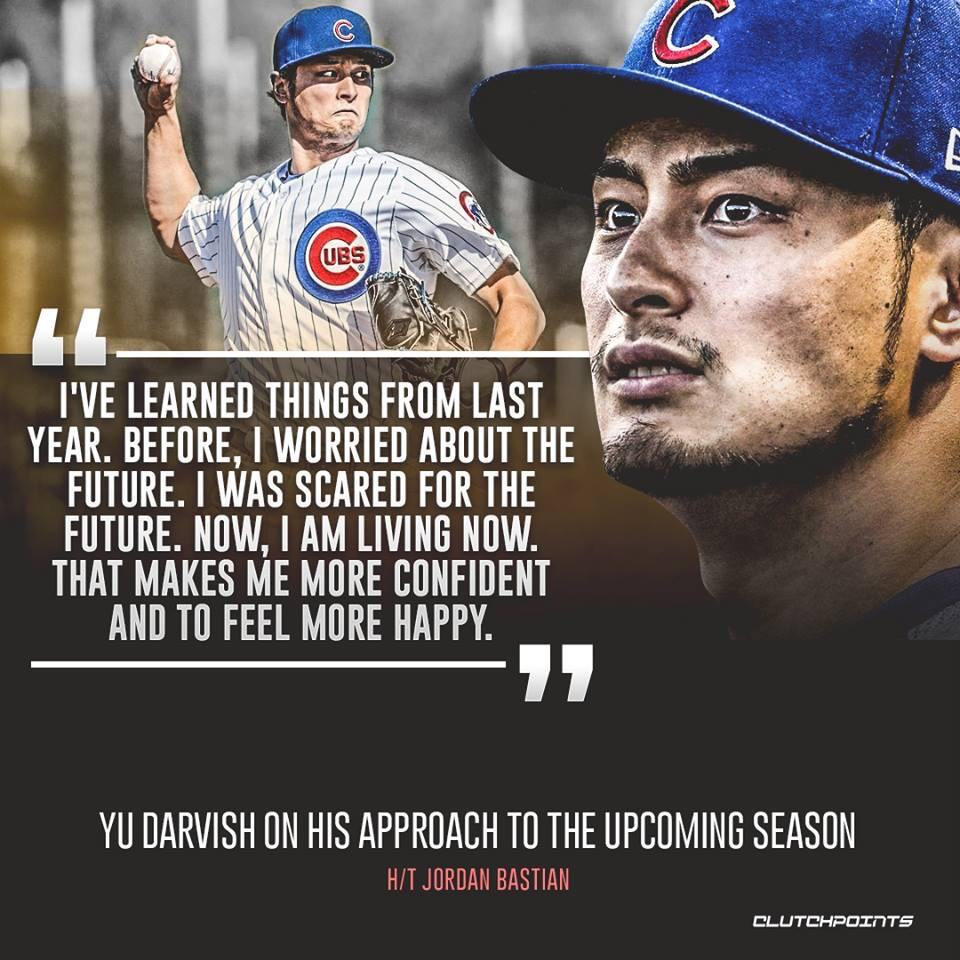[Image] Yu Darvish of the Chicago Cubs