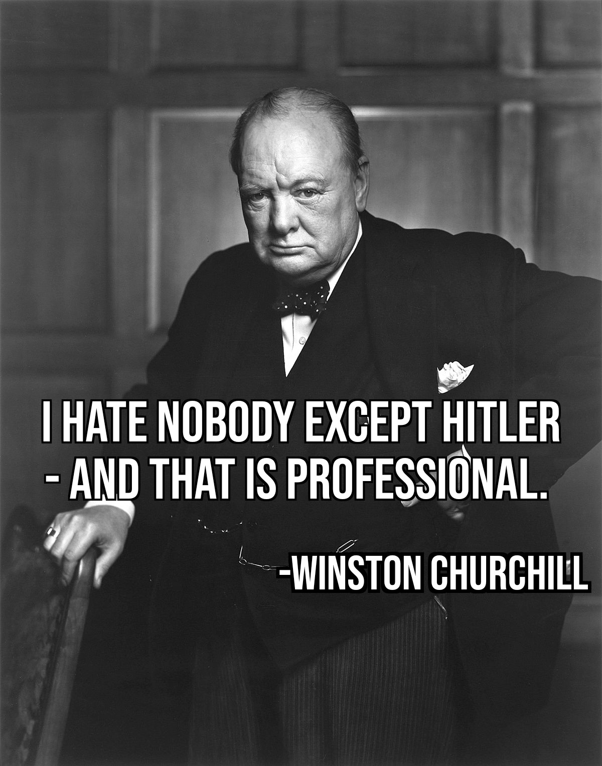 """I hate nobody except Hitler"" – Winston Churchill [OC] (1200×1527)"