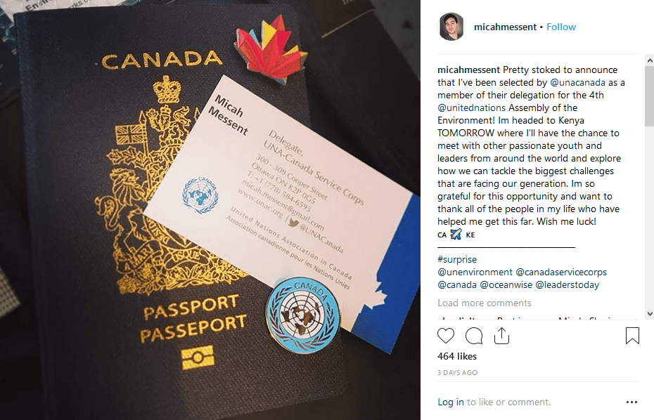 [Image] This young man died 3 days ago in the Ethiopian Airlines jetliner crash. He made this post the day before the flight. Use this as an opportunity to remind yourself to never take life for granted.