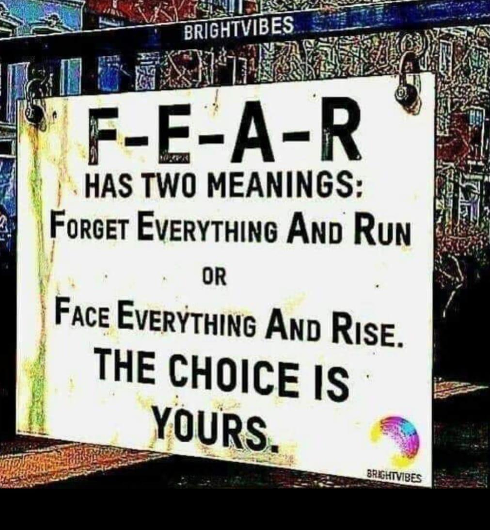 [Image] Fear Has Two Meanings