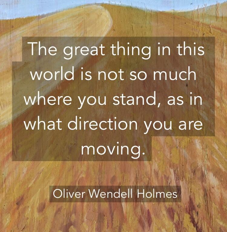 [Image] Keep moving forward !
