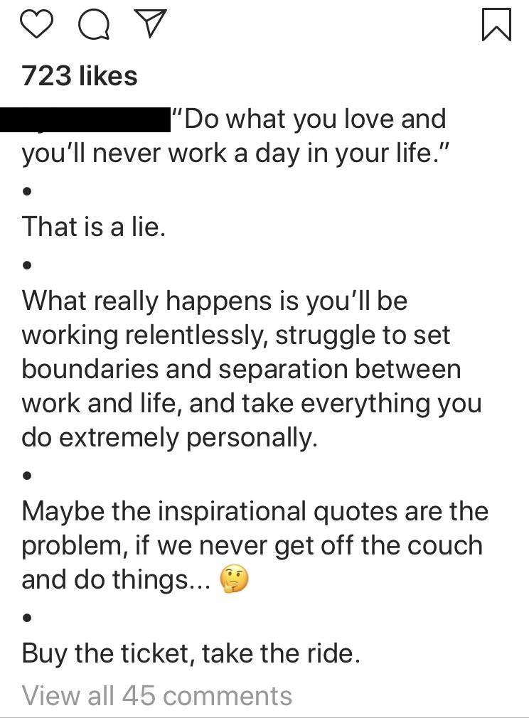 [Image] I don't normally buy into Instapreneurs, but maybe this one makes sense.