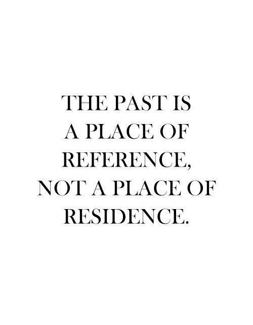 [Image] Appreciate the past, live in the present