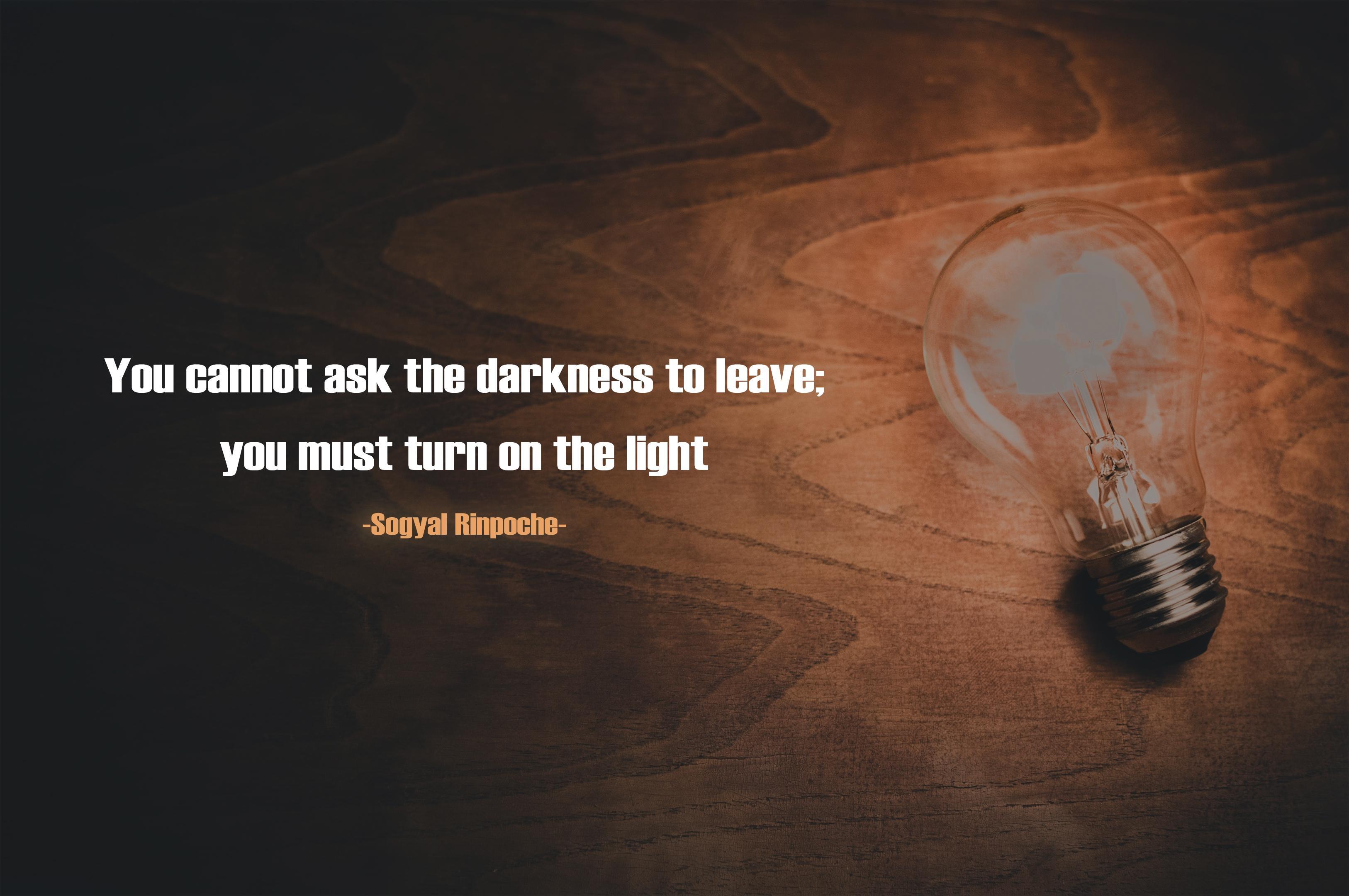 Yllll cannot 38k the darknes Vflll IIIIISt tlll'll [III the Ii -Snnyal Ilinnuehn— .. gu' ;_. https://inspirational.ly