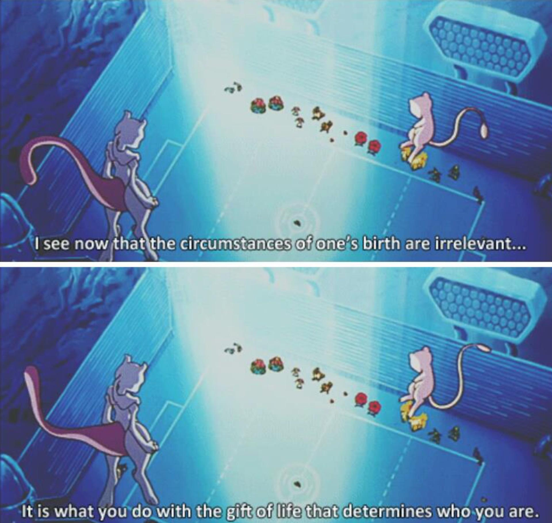 [IMAGE] Pokémon with some interesting advice.
