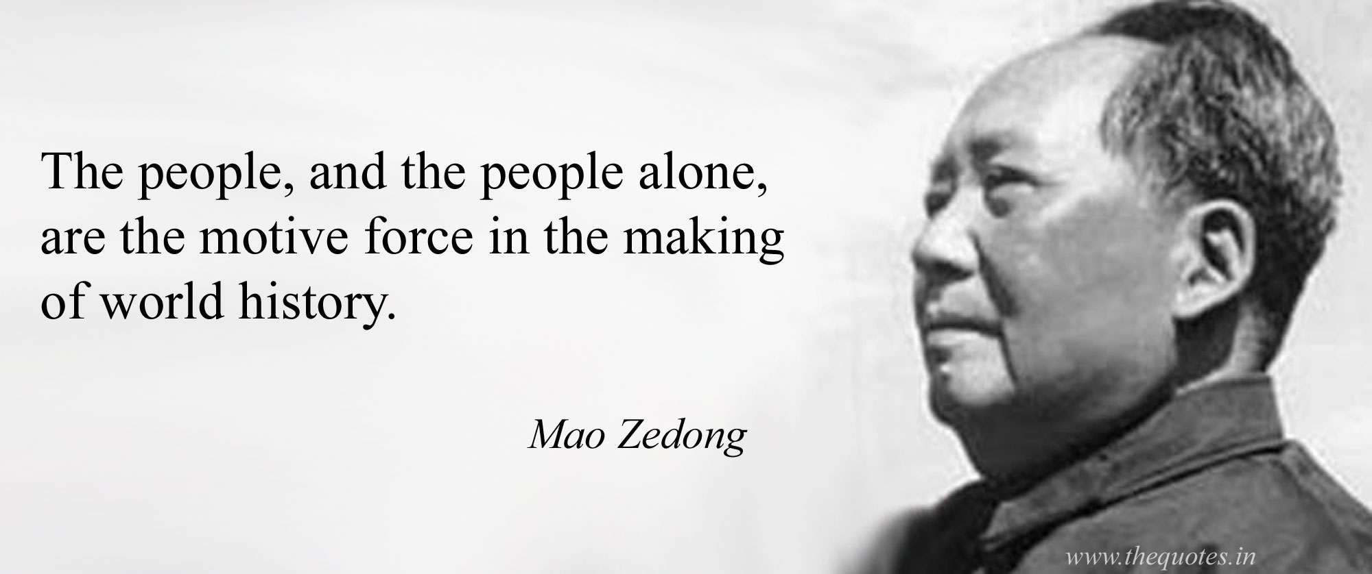 """the people, and the people alone…"" -Mao Zedong [2000×838]"