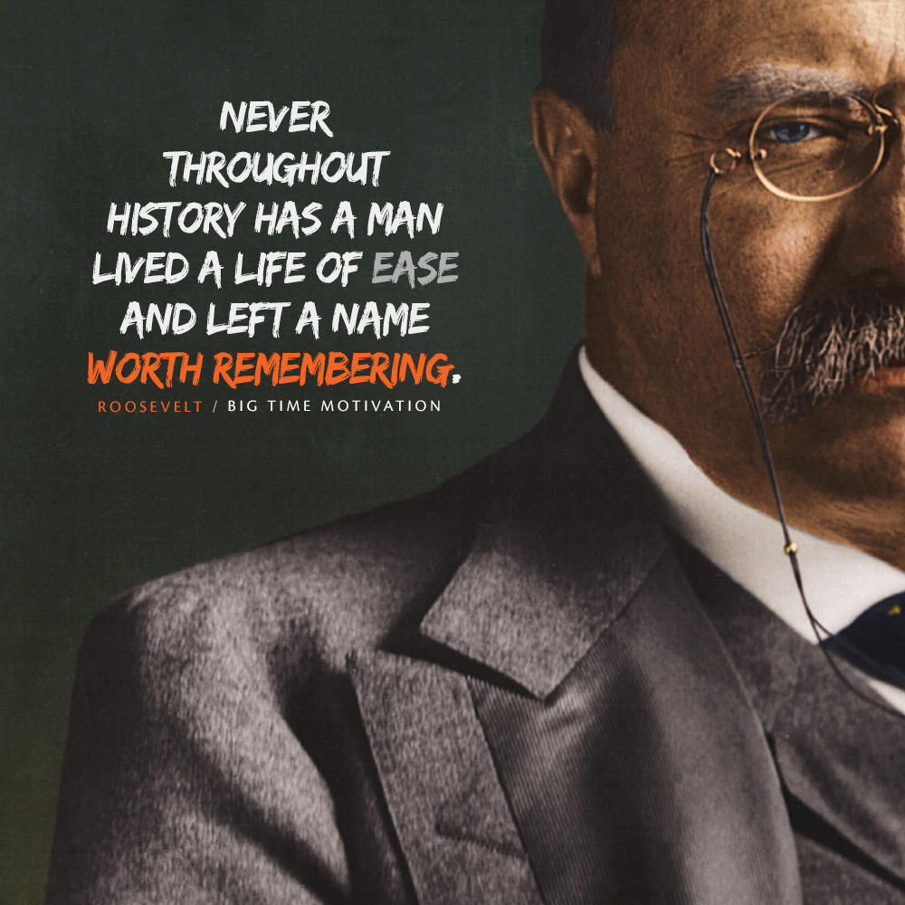 """Never throughout history.."" Theodore Roosevelt [990×990] [OC]"