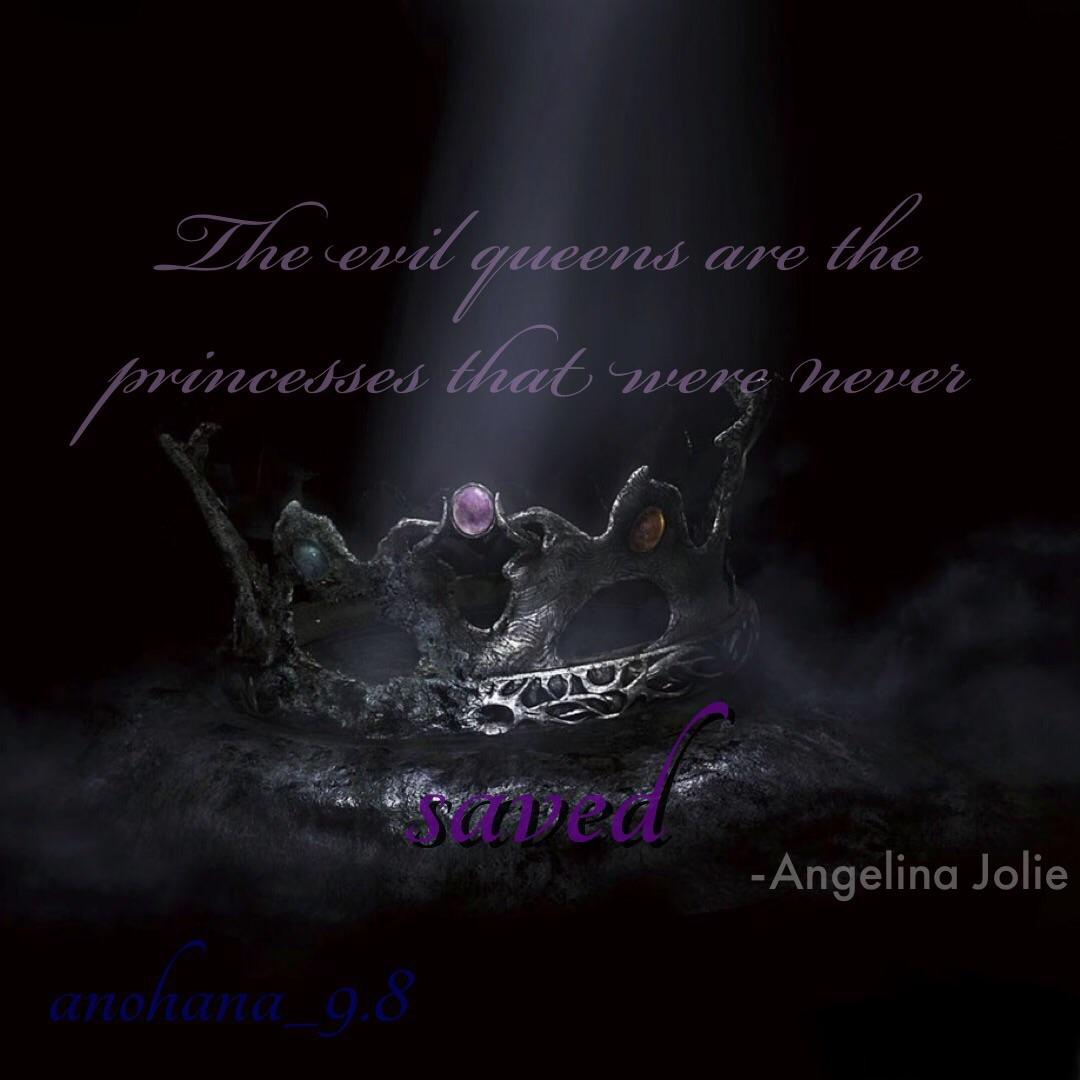 The evil queens are the princesses that were never saved – Angelina Jolie [1920×1080]