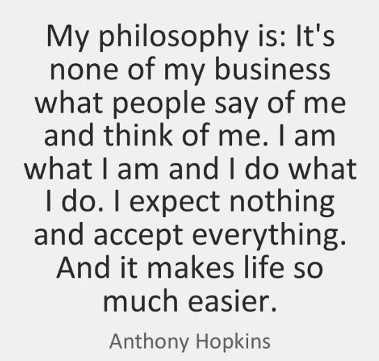 [Image] A worthwhile philosophy