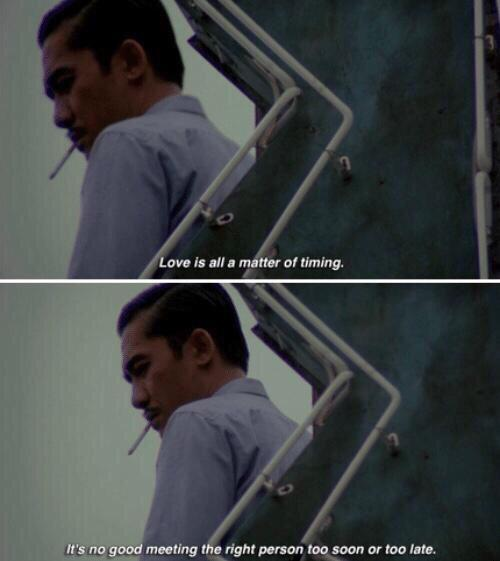 Quote about love from the movie 2046