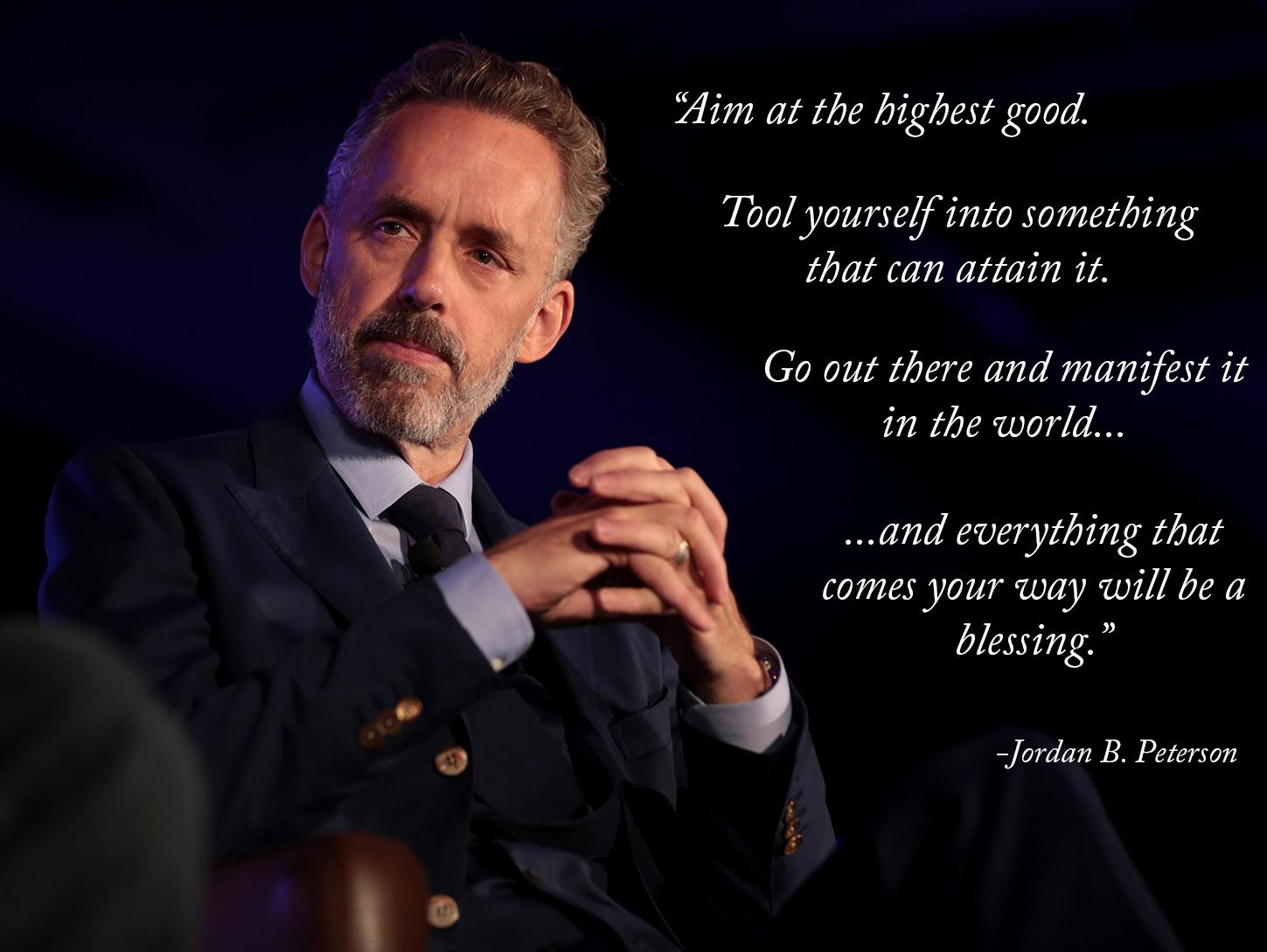 [Image] Aim At The Highest Good. Tool Yourself Into Something That Can Attain It.