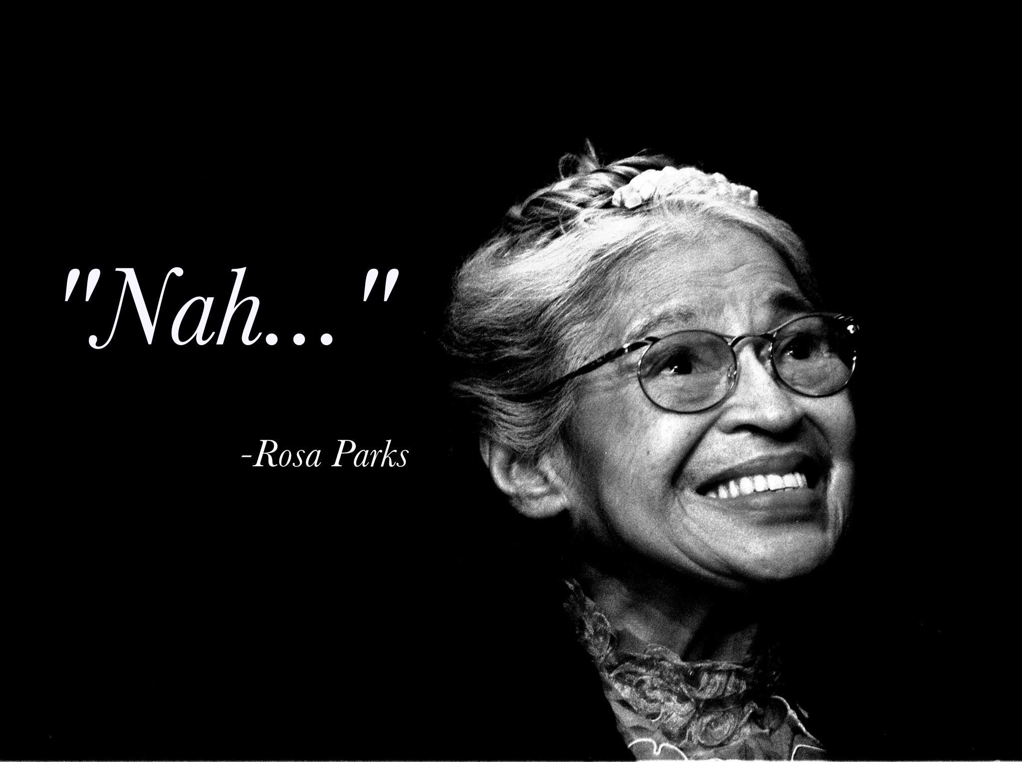 """""""Nah…"""" -R. Parks [3500×1980]"""