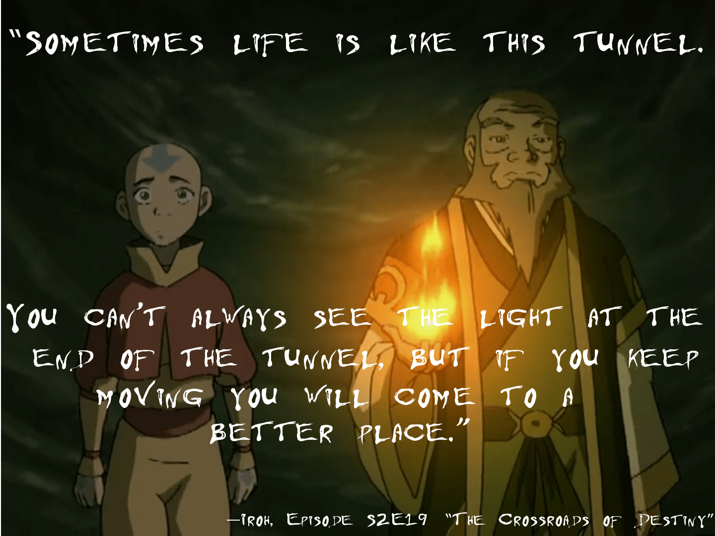 [Image] Iroh on moving forward