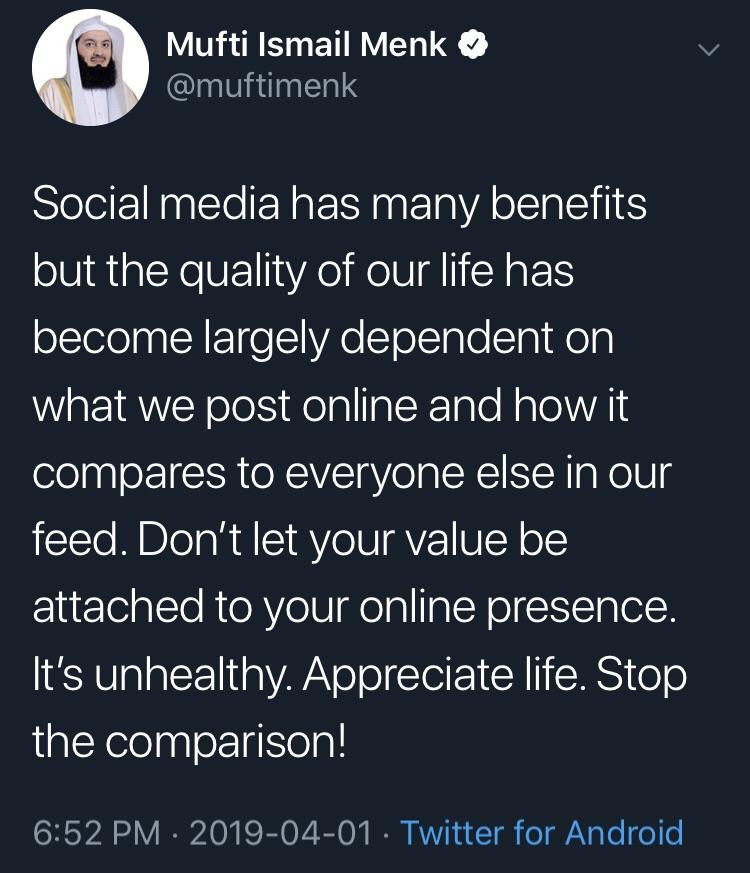 [Image] Social Media is good in moderation.