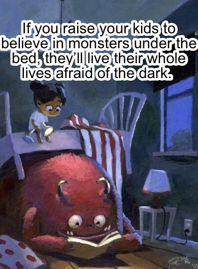 """If you raise your kid to be afraid…"" -Tyler Porter [398×541] [OC]"