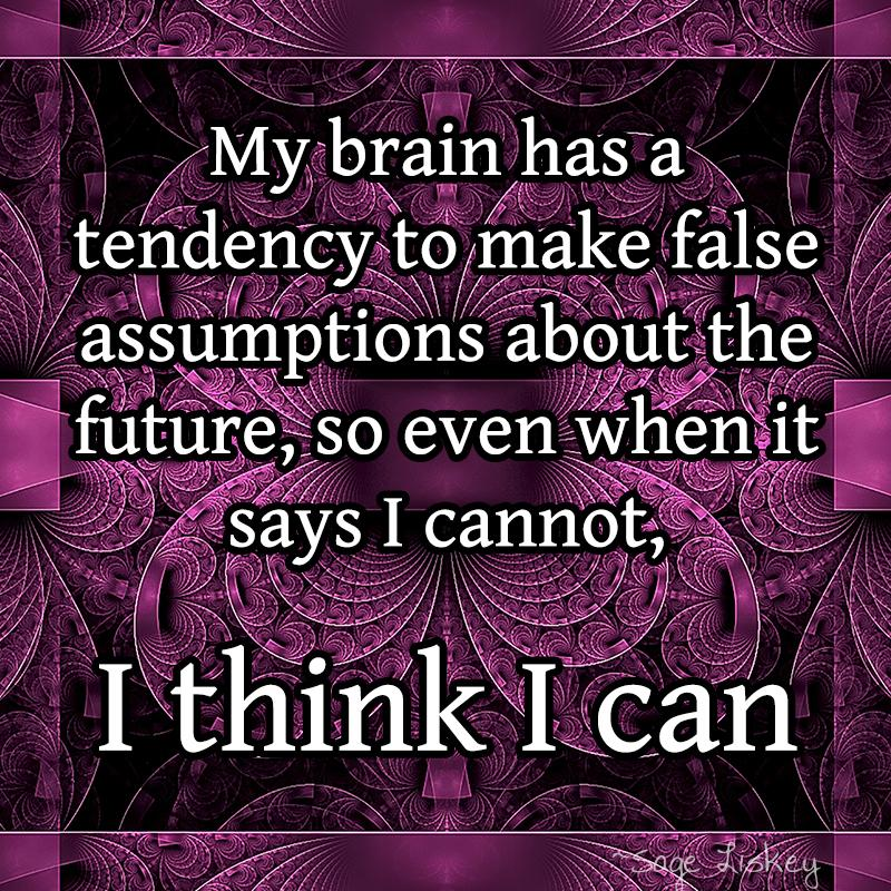 [Image] I Think I Can