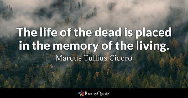 the life of the dead… Marcus Tullius Cicero [1858×969]