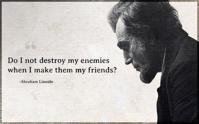 "[680×425] ""Do I not destroy my enemies when I make them my friends?"""