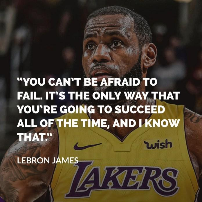 [Image] Those that fear failure, never succeed!