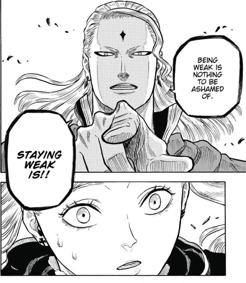 [image]No shame in being weak