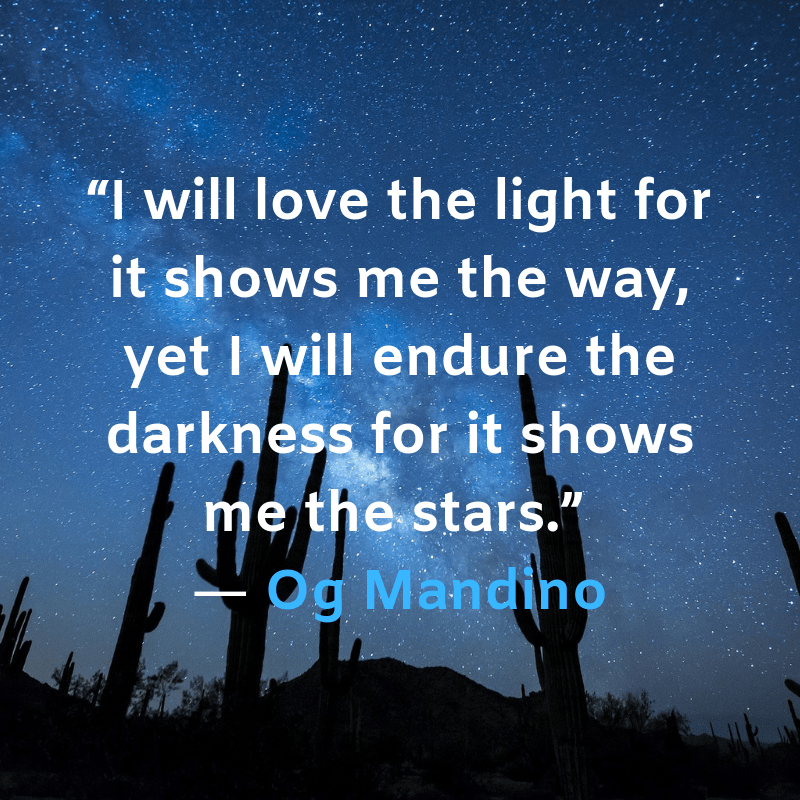 I will love the light by Og Mandino [800 x 800]