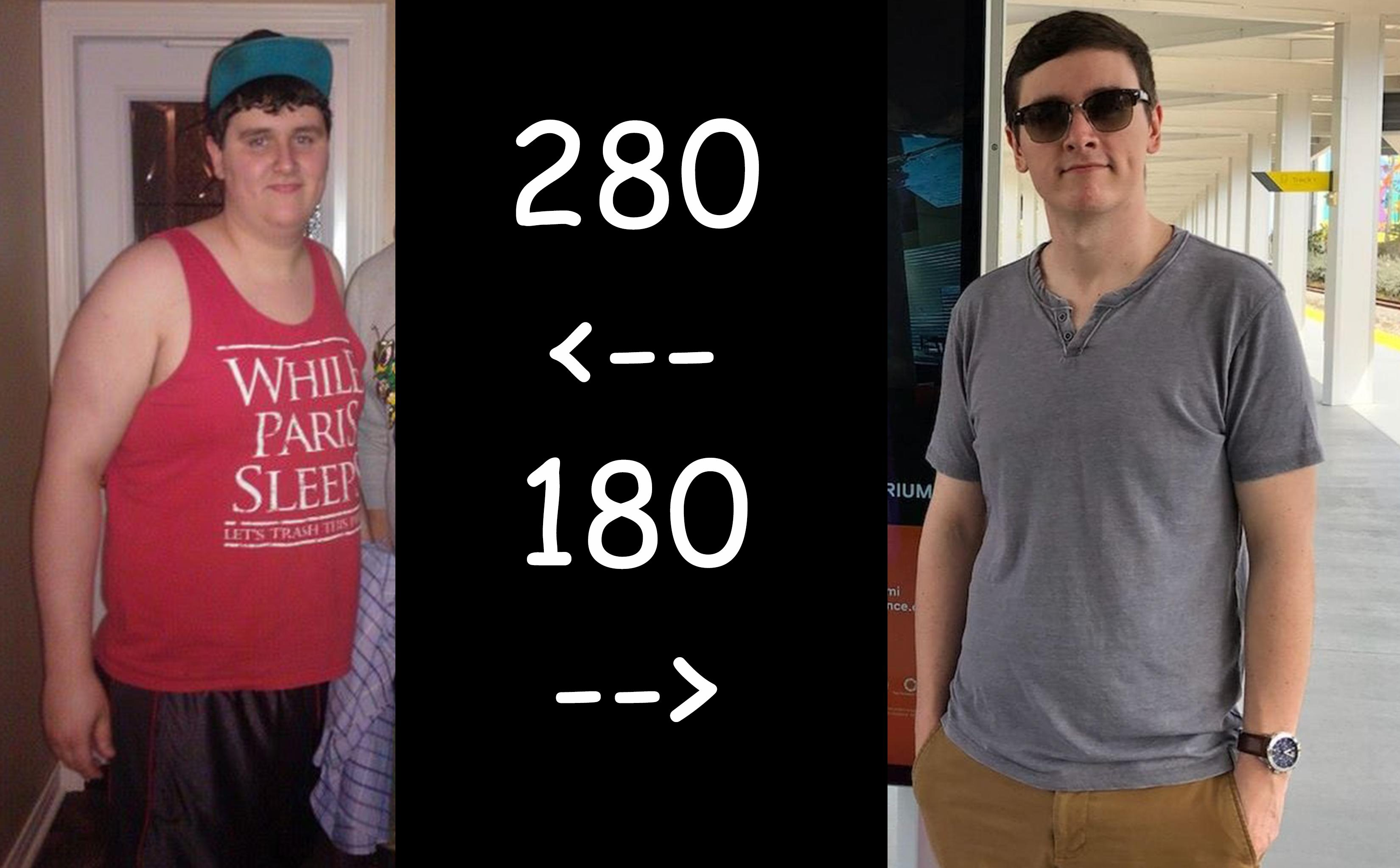 [Image] lost 100 pounds in just under 2 years. You can do it too. I know you can. Trust me, the long journey is worth it.