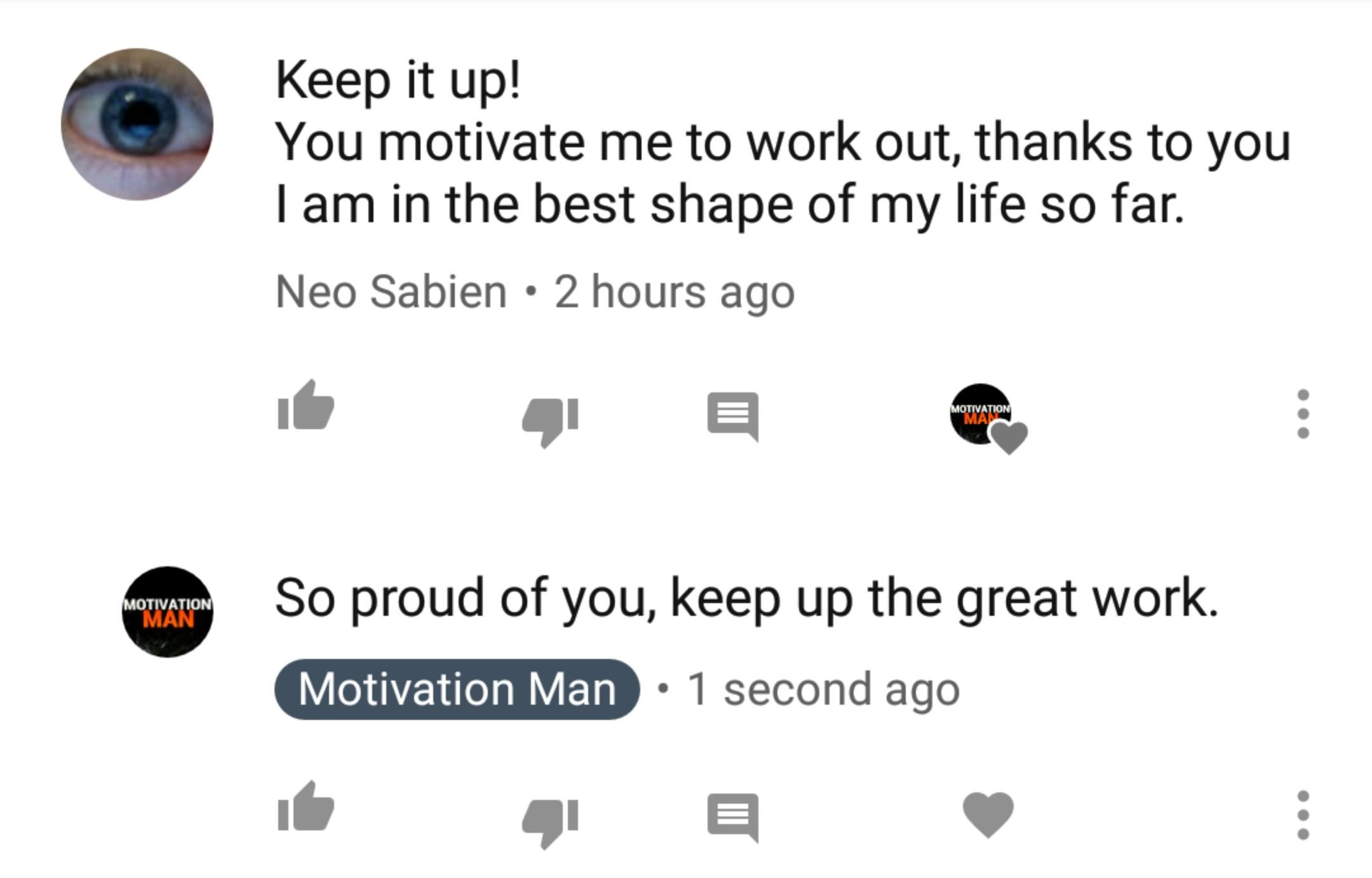 [IMAGE] This is why I've been posting every workout video of my journey since day 1! I love you all and believe in each and every one of you! You're powerful beyond measure. Everyone deserves to be happy and healthy, don't ever let anyone tell you otherwise.
